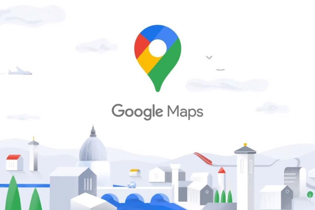 Google Haritalar Yeni Logosu